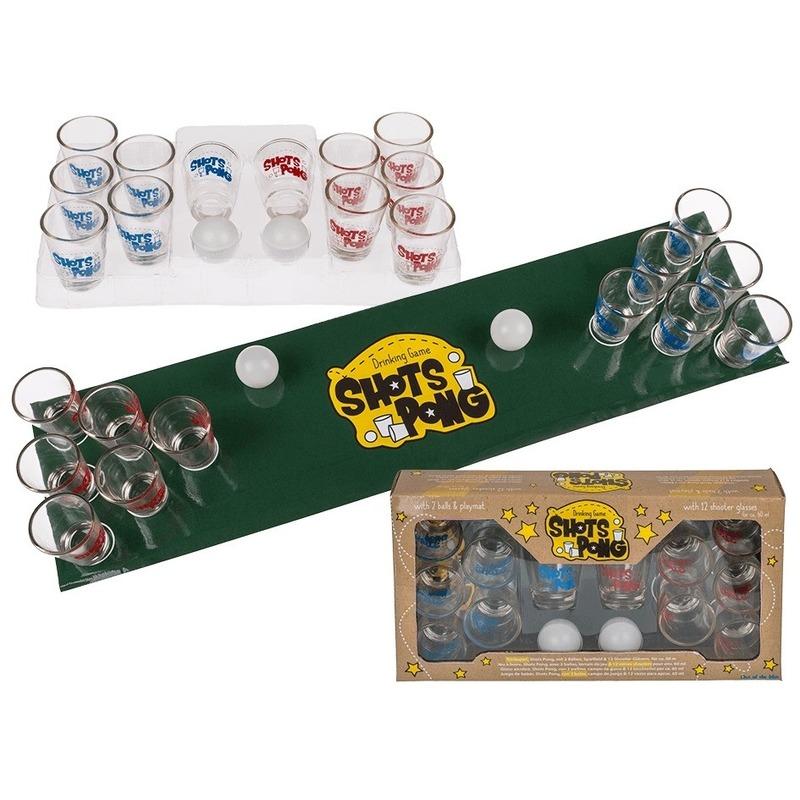 Drankspel/drinkspel shotjes pong