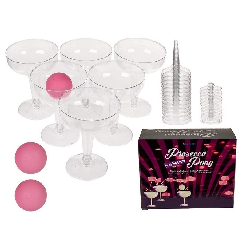 Drankspel/drinkspel wijn prosecco pong spel