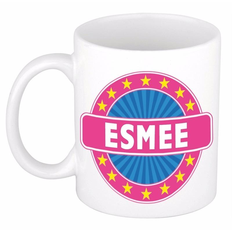Esmee Naam Koffie Mok / Beker 300 Ml