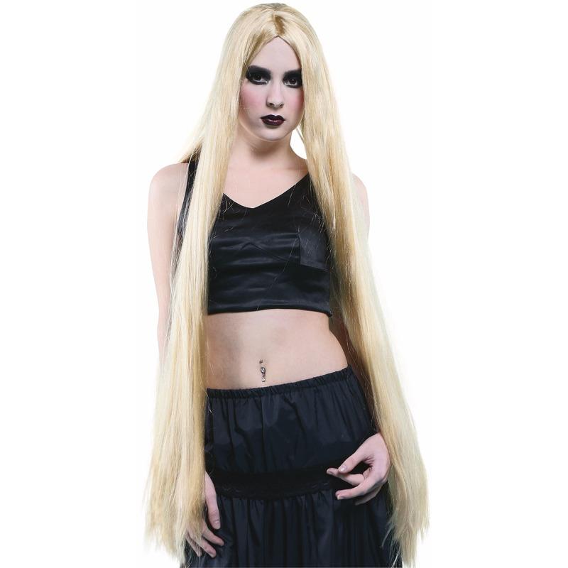 Extreem Lange Pruik Blond Haar
