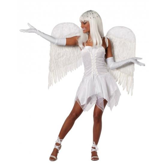 Feest jurkje wit voor dames