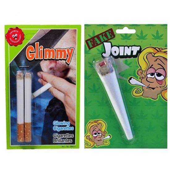 Fop pakket nep sigaret-joint