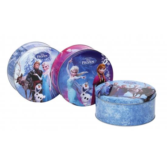 Frozen koektrommel blauw