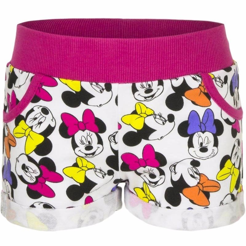 Fuchsia Minnie mouse shorts