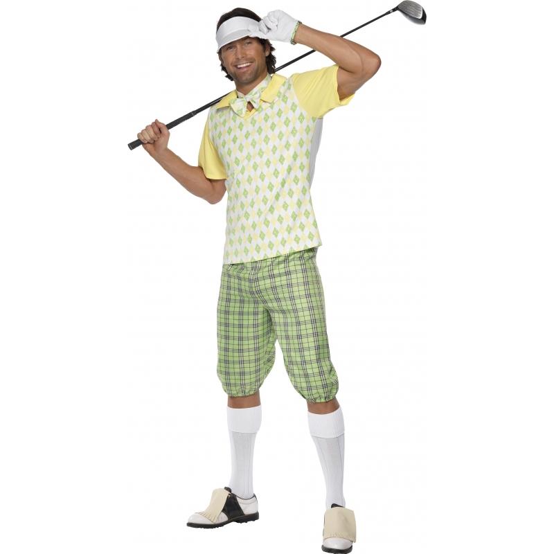 Fun kostuum golfer