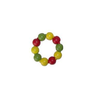 Gekleurde kralenarmband