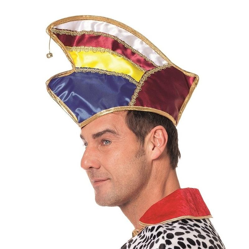 Gekleurde prinsen hoed