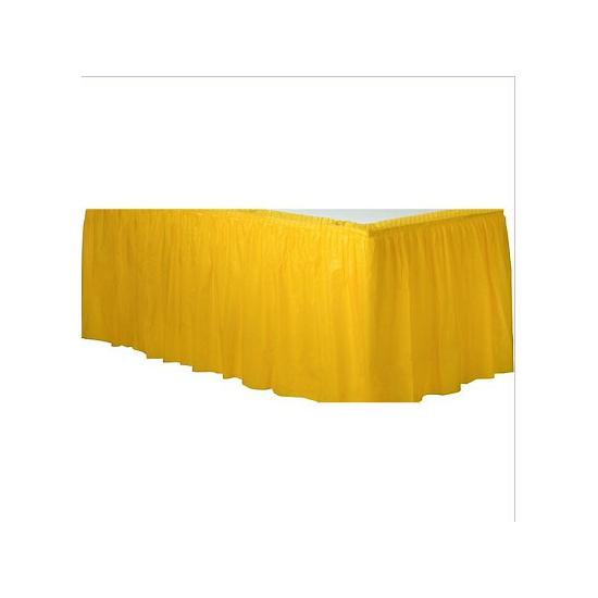 Gele tafelrok