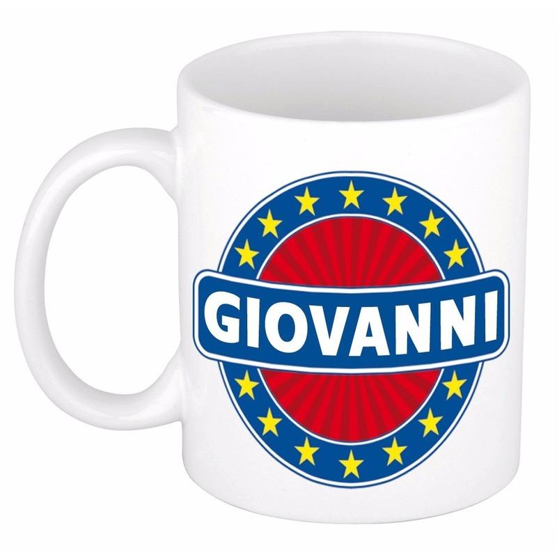 Giovanni naam koffie mok - beker 300 ml