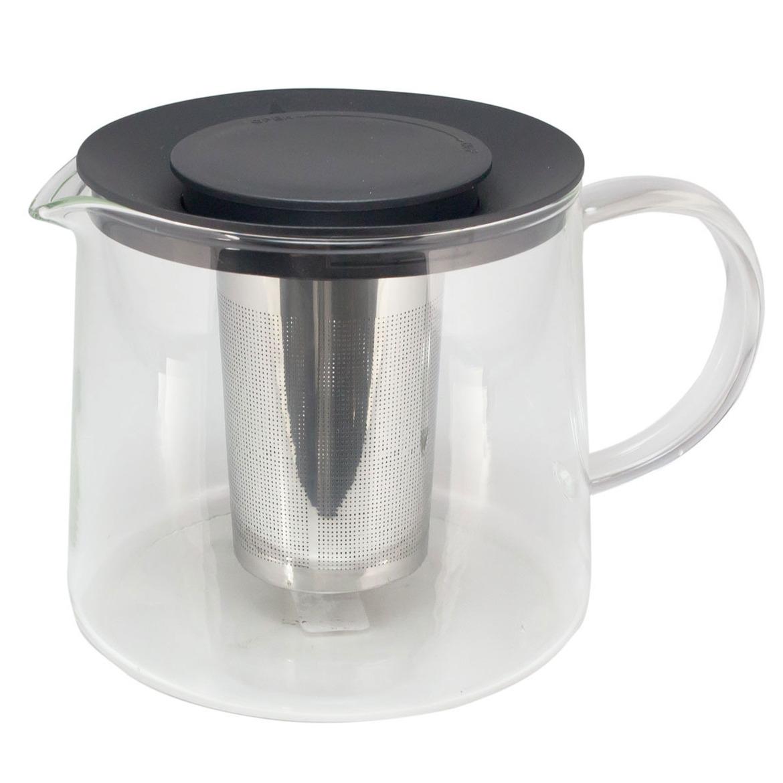 Glazen theepot 1,5 liter met filter
