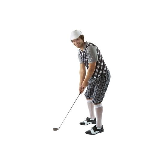 Golf kostuum zwart voor heren