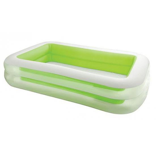Groen Intex opblaas zwembad 262 cm