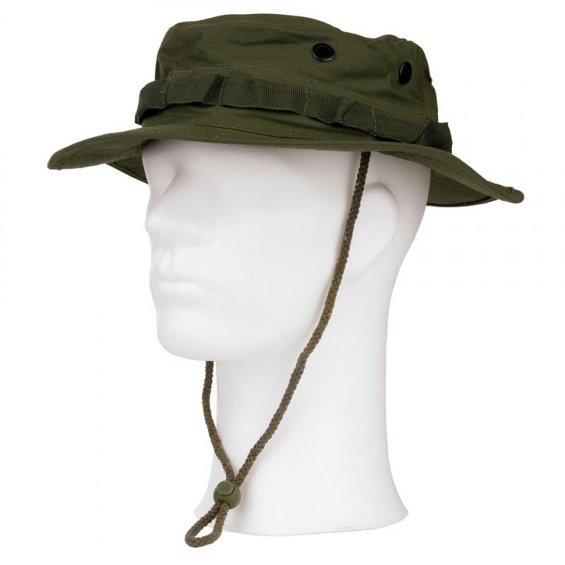Groene bush hoed