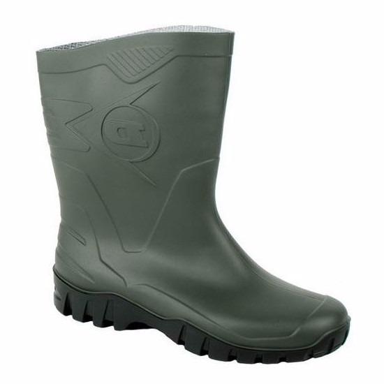 Groene Dunlop kuitlaarzen voor heren