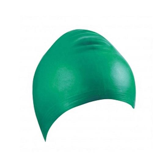 Groene latex badmuts voor volwassenen