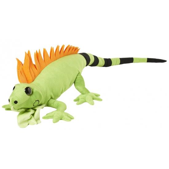 Groene leguaan knuffel 110 cm