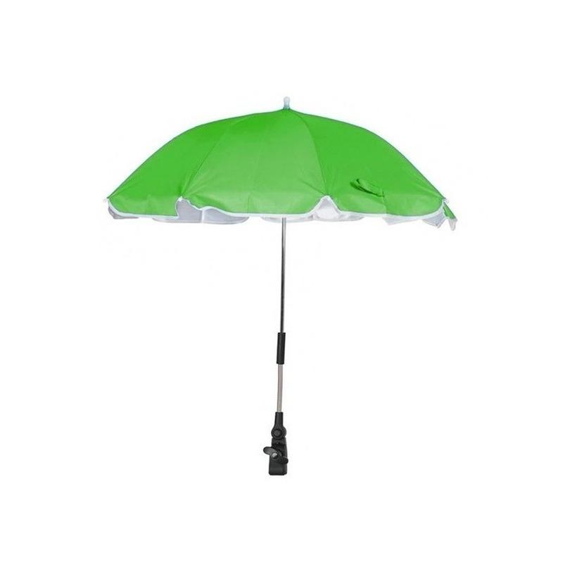 Groene parasol voor stoel of kinderwagen 100 cm