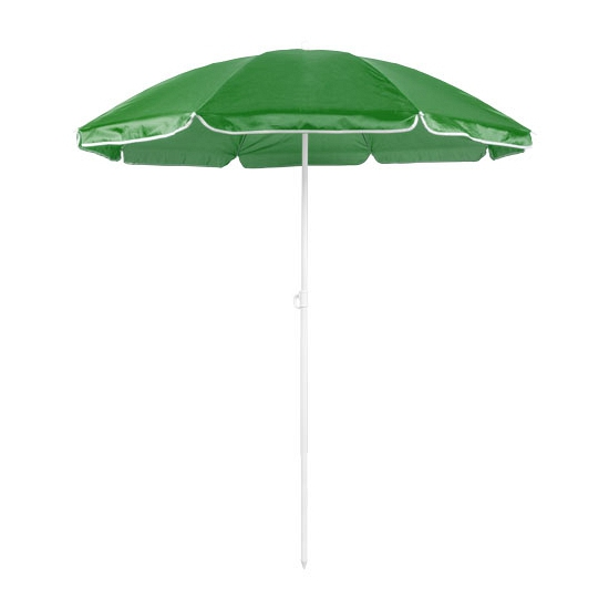 Groene strand parasol van nylon
