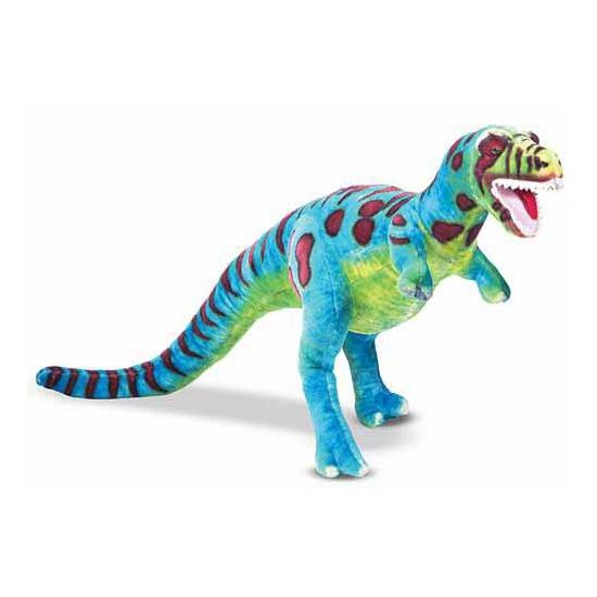 Grote staande dinosaurus knuffel T-Rex 81 cm