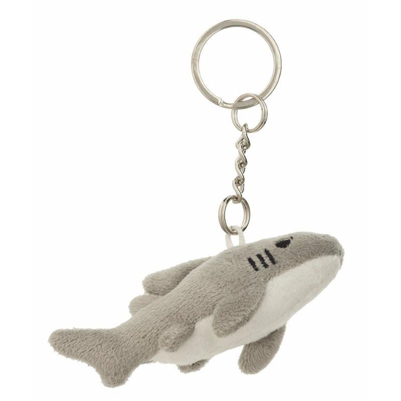 Haai sleutelhanger 6 cm