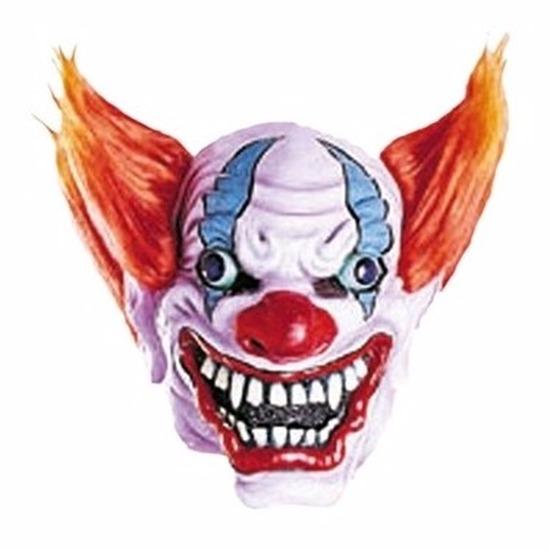 Halloween - Crazy clown masker