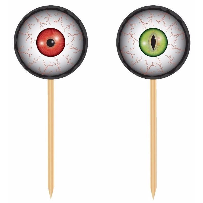 Halloween - Horror prikkers met oogbollen