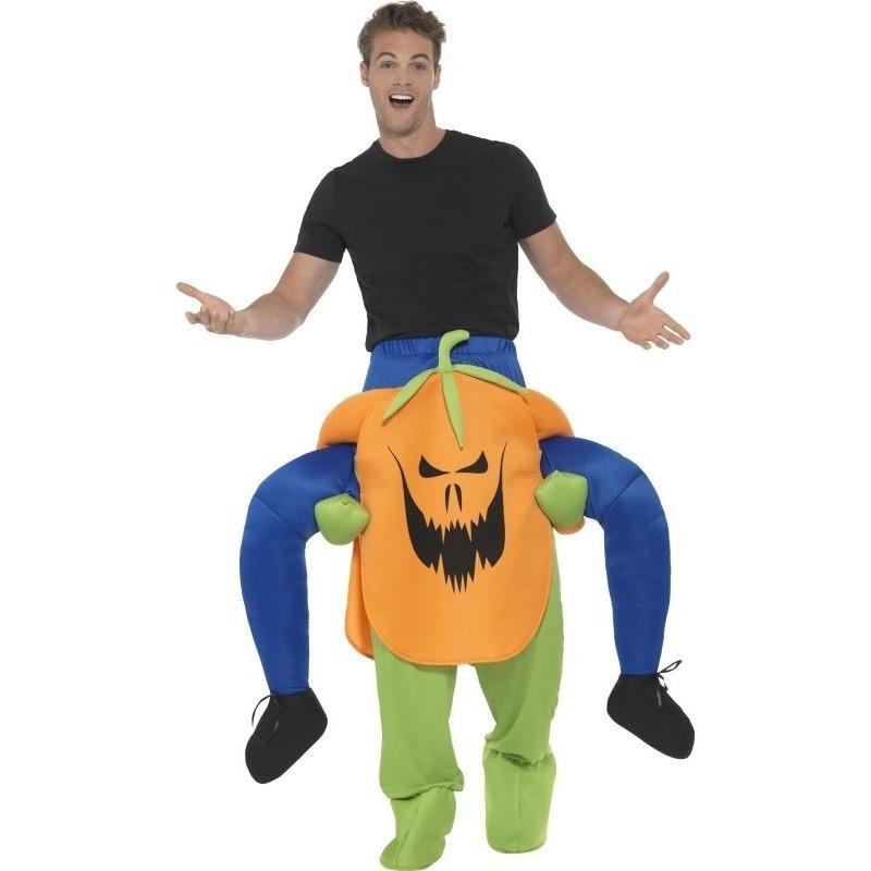 Halloween - Instapkostuum pompoen voor volwassenen