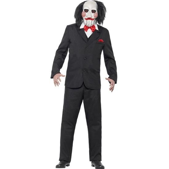 Halloween - Saw Jigsaw kostuum en masker