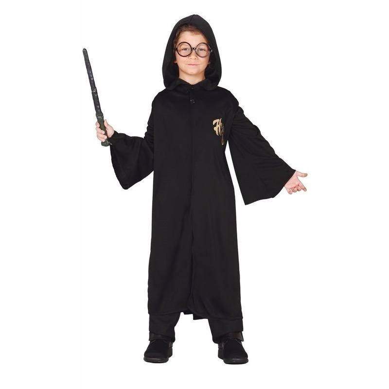 Halloween - Tovenaar Harry cape met capuchon voor kinderen