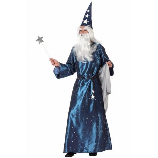 Halloween - Tovenaars kostuum blauw
