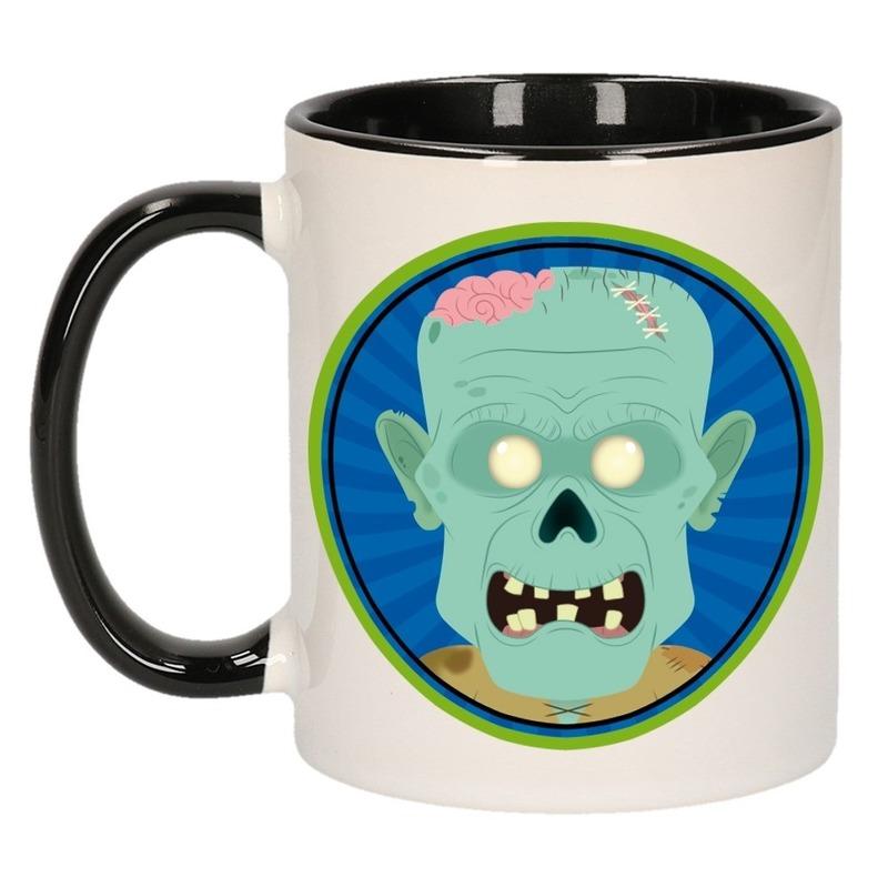 Halloween zombie mok - beker 300 ml