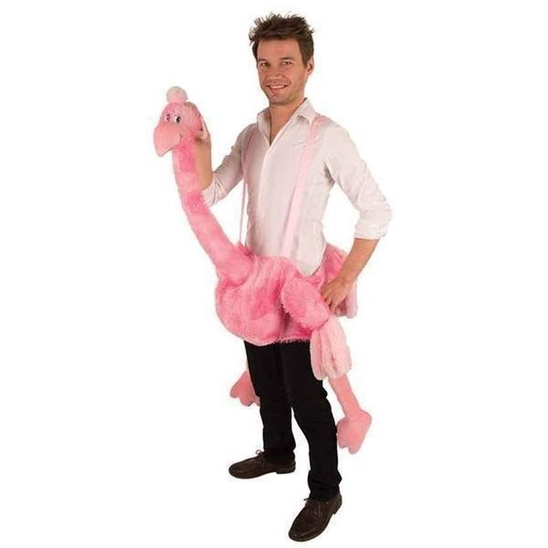 Hang-on struisvogel kostuum