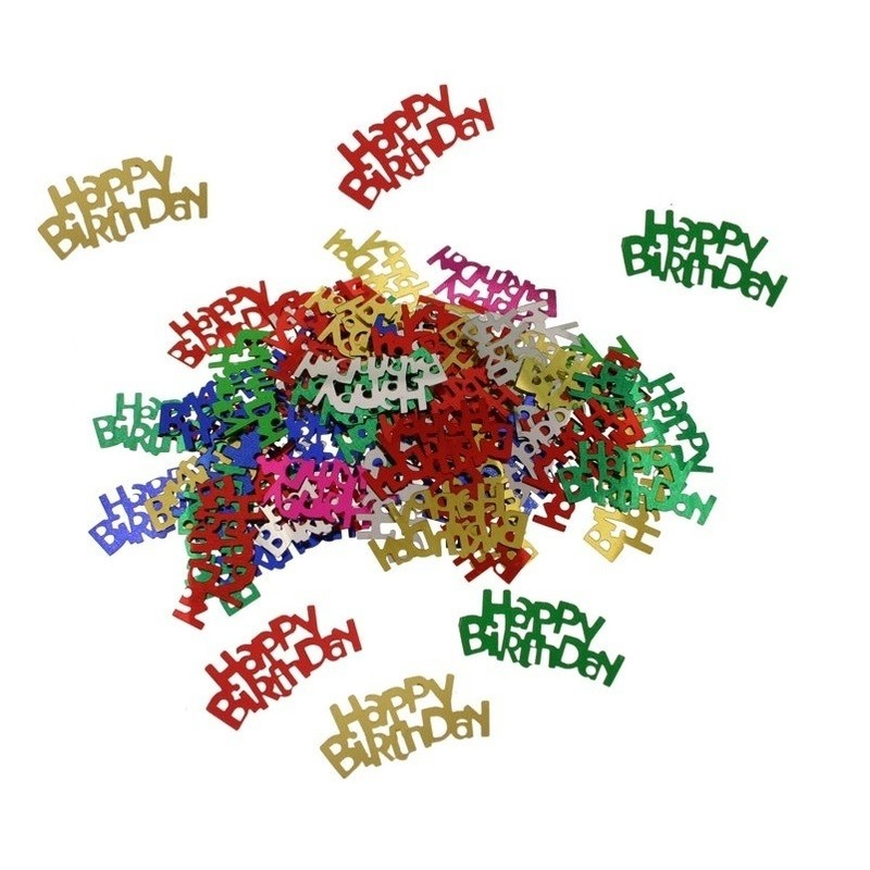 Happy Birthday confetti 15 gram