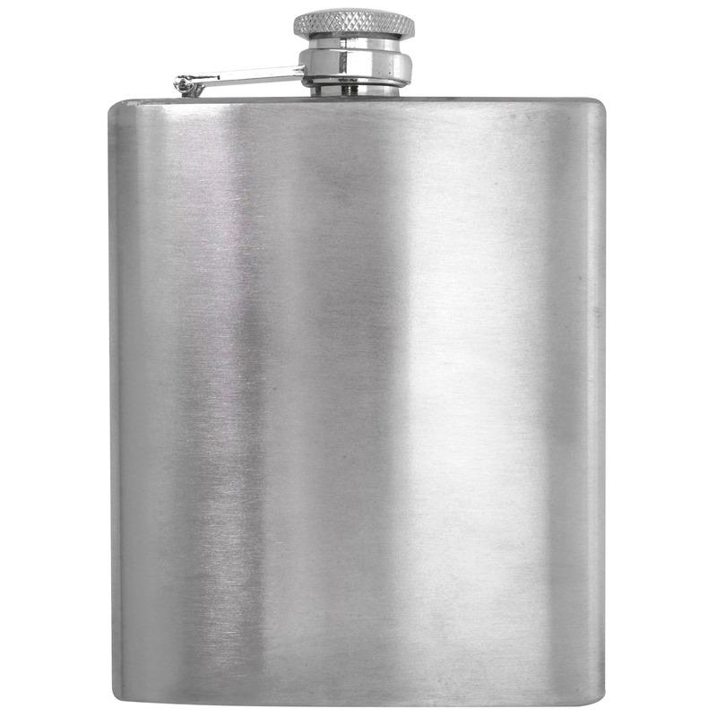 Heupfles 200 ml RVS
