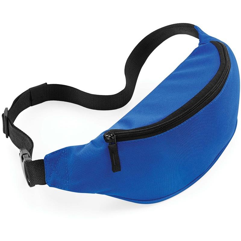 Heuptasje/buideltasje blauw 38 cm