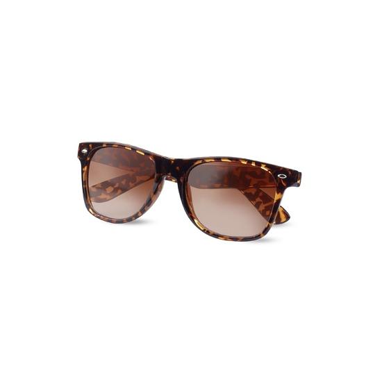 Hippe zonnebril met luipaard print