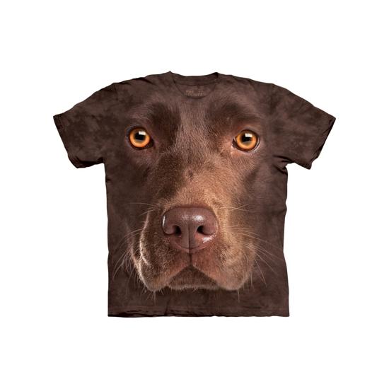 Honden T-shirt bruine Labrador