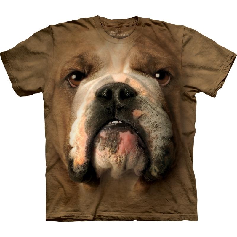 Honden T-shirt Bulldog