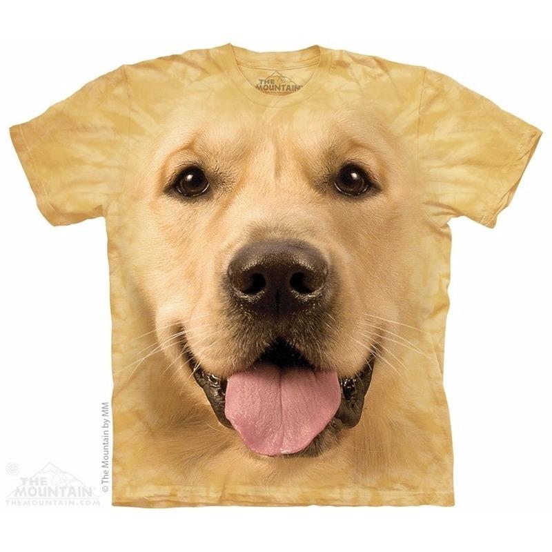Honden T-shirt Golden Retriever voor volwassenen