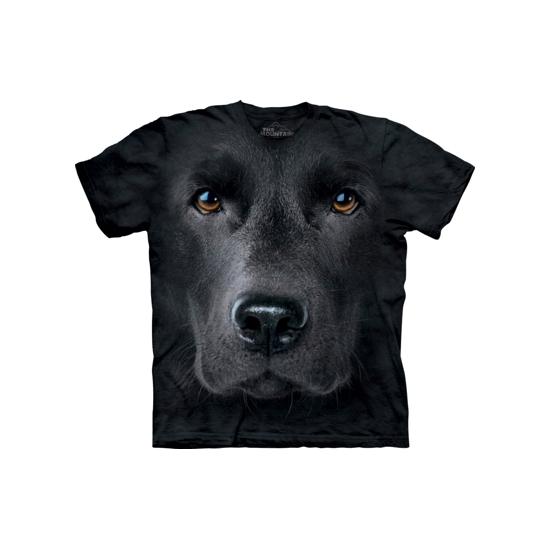 Honden T-shirt zwarte Labrador