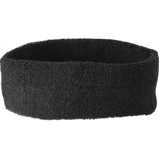 Hoofd zweetband zwart