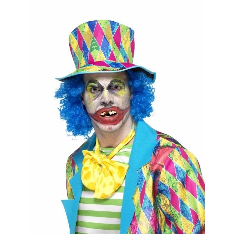 Horror clown gebitje voor volwassenen