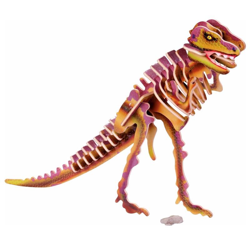 Houten 3D puzzel Tyrannosaurus