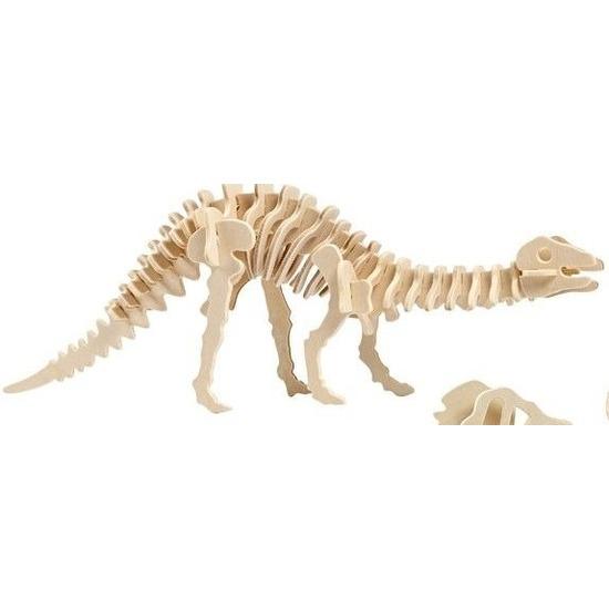 Houten bouwpakket Apatosaurus