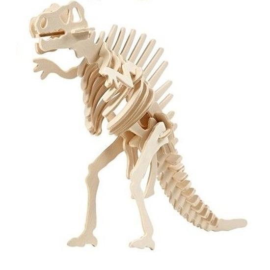 Houten bouwpakket Spinosaurus