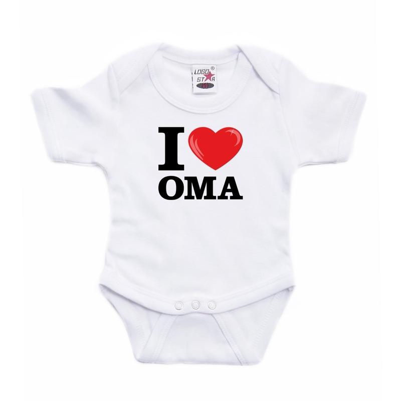 I love Oma rompertje baby
