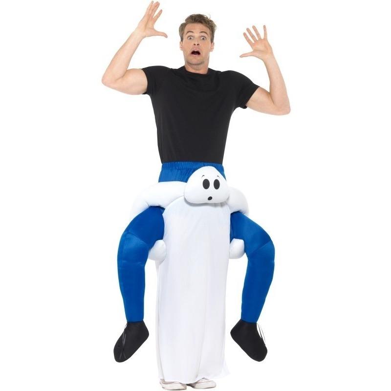 Instapkostuum spook voor volwassenen