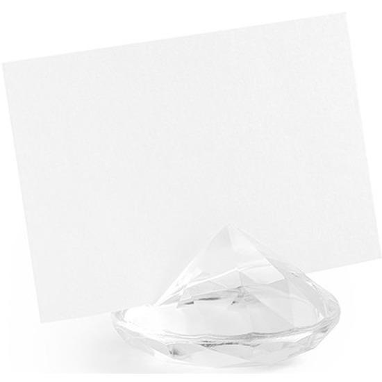 Kaarthouder standaard diamant 10x