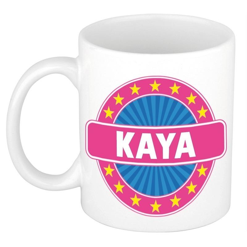 Kaya naam koffie mok-beker 300 ml