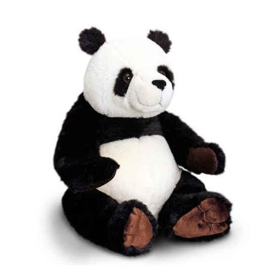 Keel Toys Pluche Pandabeer Knuffel Zittend 30 Cm